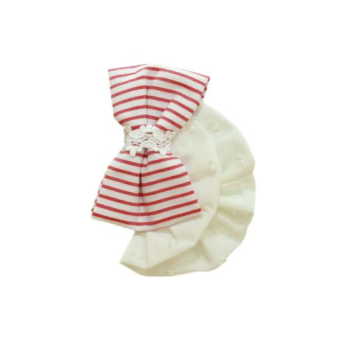 PRE ORDER SS21 Girls Miranda Red and White Headband 152