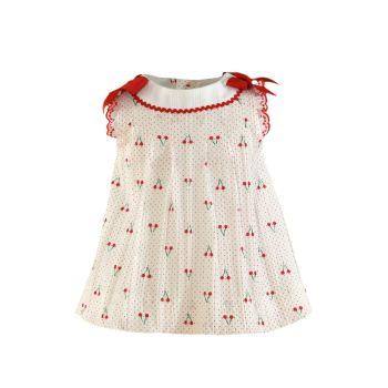 Girls Miranda Red Cherry Dress 64