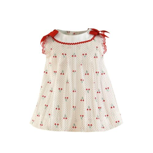 PRE ORDER SS21 Girls Miranda Red Cherry Dress 64