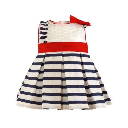 PRE ORDER SS21 Girls Miranda Red, White and Blue Dress 159