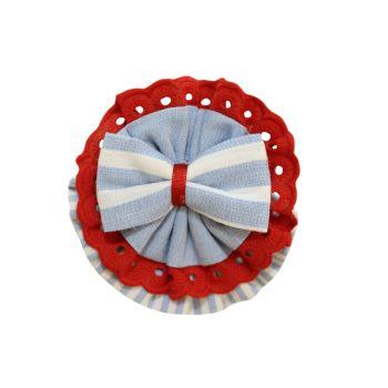 Girls Miranda Red, White and Blue Headband 188