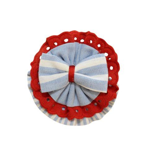 PRE ORDER SS21 Girls Miranda Red, White and Blue Headband 188