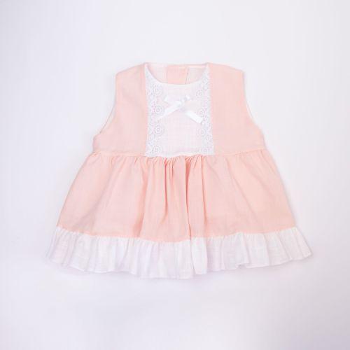 Girls Eva Pink Dress and Pants 1025