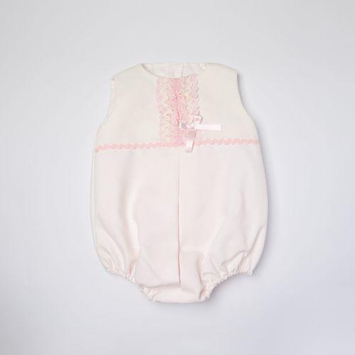 Girls Eva Pink Romper 1151