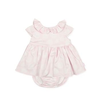 Girls Tutto Piccolo Pink Dress and Pants 1217