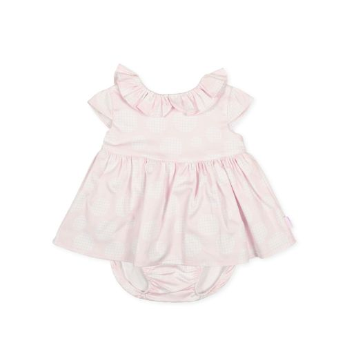 PRE ORDER SS21 Girls Tutto Piccolo Pink Dress and Pants 1217