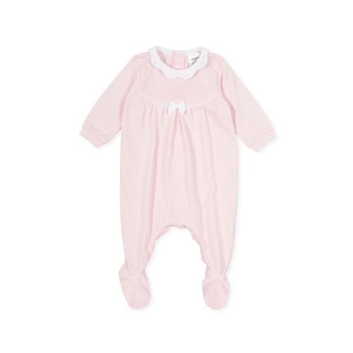 PRE ORDER SS21 Girls Tutto Piccolo Pink Babygrow 1181