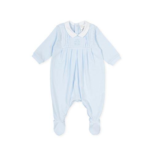PRE ORDER SS21 Boys Tutto Piccolo Blue Babygrow 1081