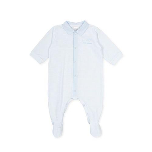 PRE ORDER SS21 Boys Tutto Piccolo Blue Babygrow 1088