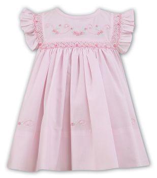 Girls Sarah Louise Heritage Collection Dress C7101N Pink