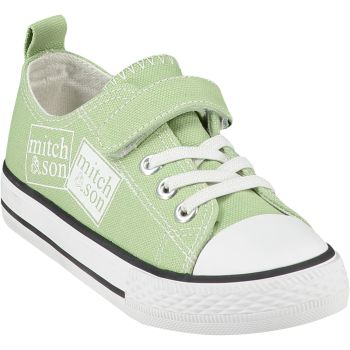 Boys Mitch & Son Canvas Trainers - Green