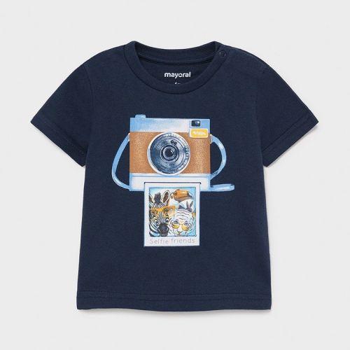 Boys Mayoral T Shirt 1003 Navy