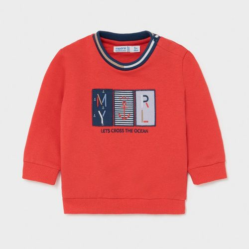 Boys Mayoral Sweater 1401 Red