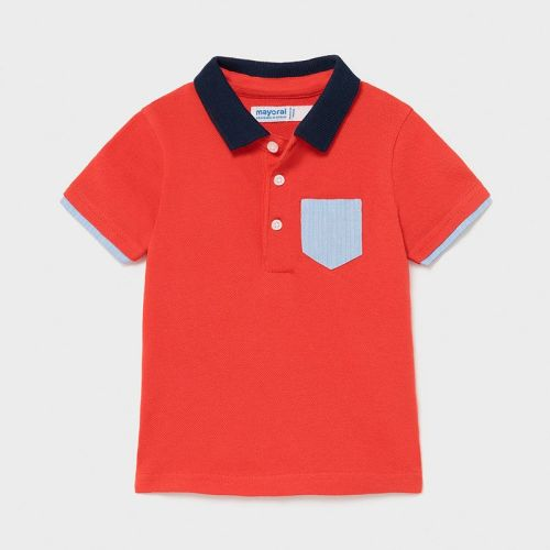 Boys Mayoral Polo Shirt 1103 Red