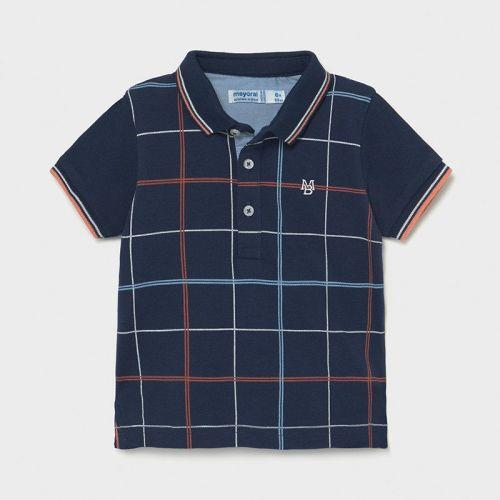 Boys Mayoral Polo Shirt 1106 Navy