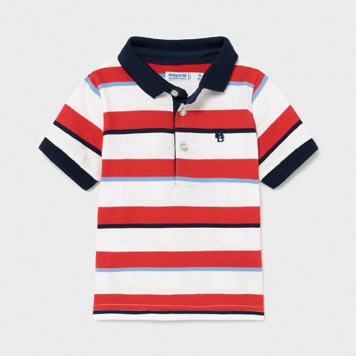 Boys Mayoral Polo Shirt 1107 Red
