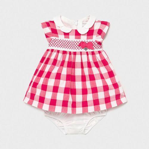 Girls Mayoral Dress and Pants 1833 Pink