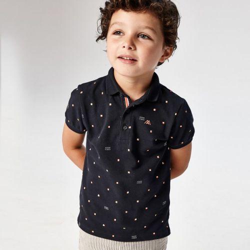 Boys Mayoral Polo Shirt 3106 Navy