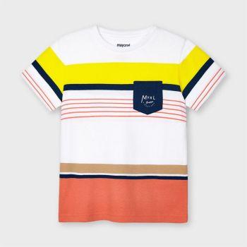 Boys Mayoral T Shirt 3038 Apricot