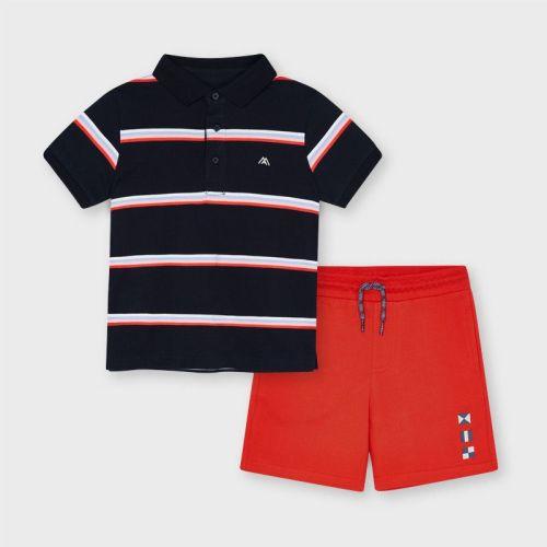 Boys Mayoral Polo Shirt and Shorts Set 3640