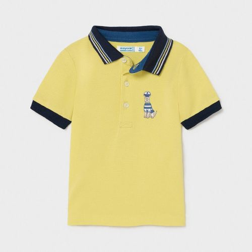 Boys Mayoral Polo Shirt 1104 Lime