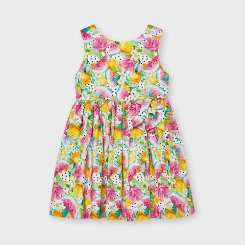Girls Mayoral Dress 3929 Pistachio