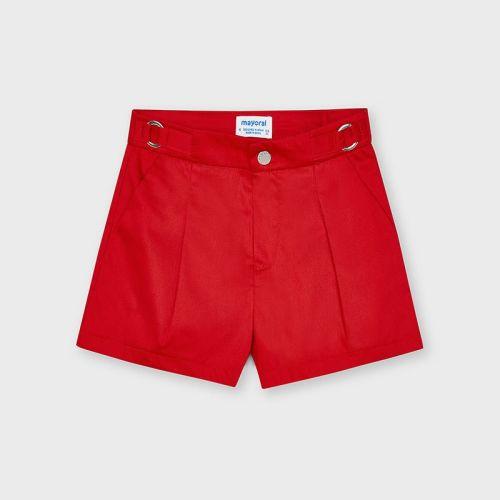 Girls Mayoral Shorts 3207 Poppy