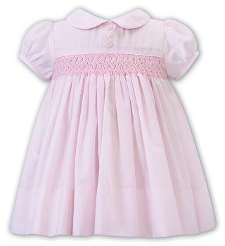 Girls Sarah Louise Dress 012242 Pink