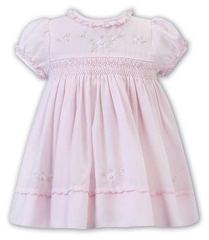 Girls Sarah Louise Dress 012257 Pink