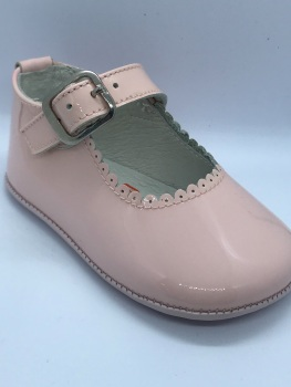 Girls Andanines Soft Sole Shoes 172901 - Pink
