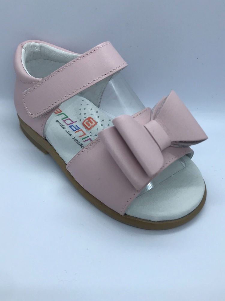 Girls Andanines Sandals 181851 Pink Leather