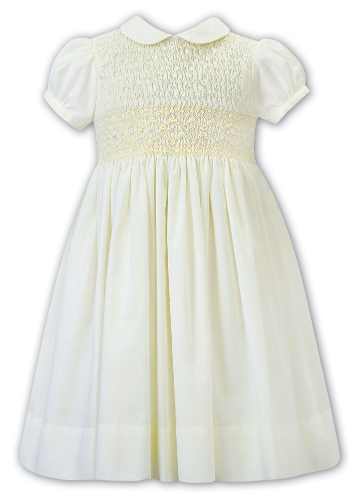 Girls Sarah Louise Dress 012289 Lemon - PRE ORDER