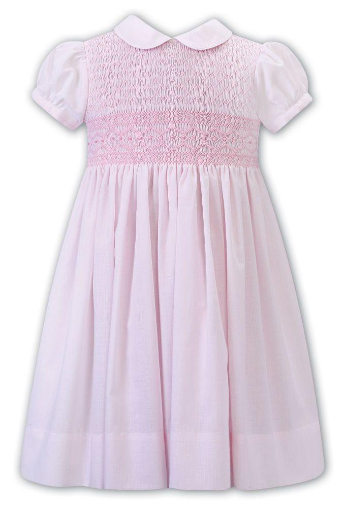 Girls Sarah Louise Dress 012289 Pink - PRE ORDER