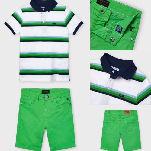 Boys Mayoral Polo Shirt and Shorts 3111