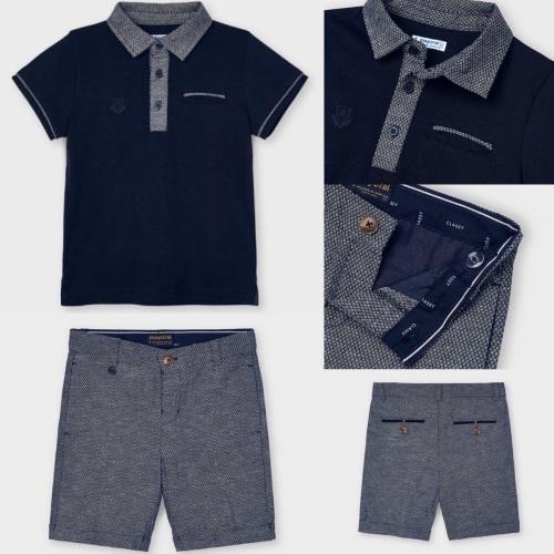 Boys Mayoral Polo Shirt and Shorts 3110