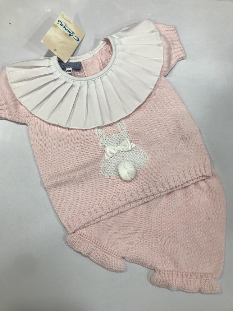 Girls Aurea Knitted Set 716050 Pink