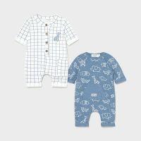Boys Mayoral Babygrows 2 Pack 1633