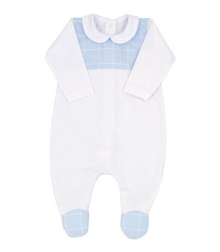 Boys Rapife Babygrow 4304S21 Blue