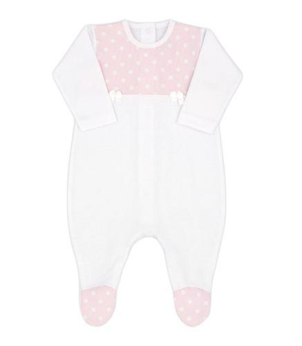 Girls Rapife Babygrow 4503S21 Pink