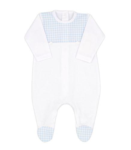 Boys Rapife Babygrow 4504S21 Blue