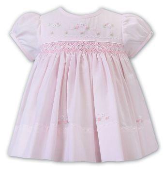 Girls Sarah Louise Dress 012226 Pink