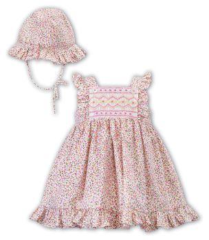 Girls Sarah Louise Dress and Hat 012394