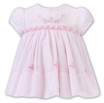 Girls Sarah Louise Dress 012222 Pink