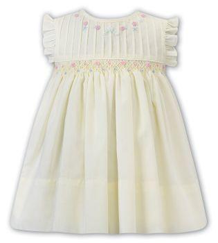 Girls Sarah Louise Dress 012283 Lemon