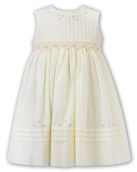 Girls Sarah Louise Dress 012284 Lemon
