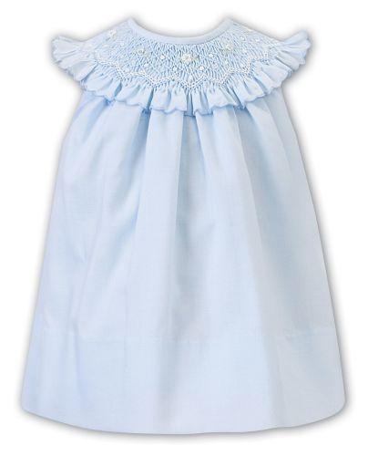 Girls Sarah Louise Dress 012217 Blue