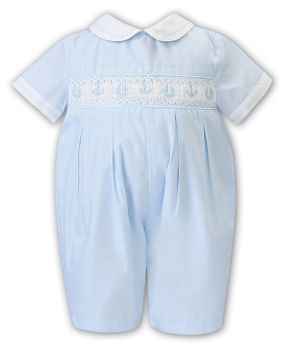 Boys Sarah Louise Outfit 012201 Blue and White