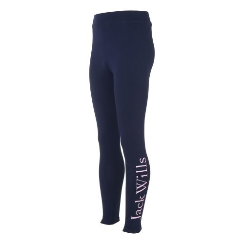 Girls Jack Wills Legging 5030 Navy