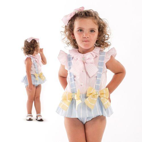 Girls Naxos Pink, Lemon and Blue Set 6708