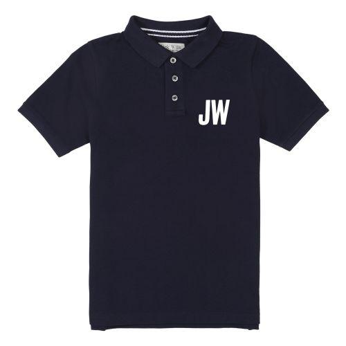 Boys Jack Wills Polo JWS0139 Navy